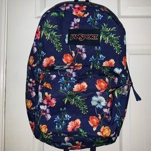 Jan sport flower backpack